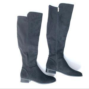 NIB Nine West Reiley 2 Tall Black Boots Sz 7